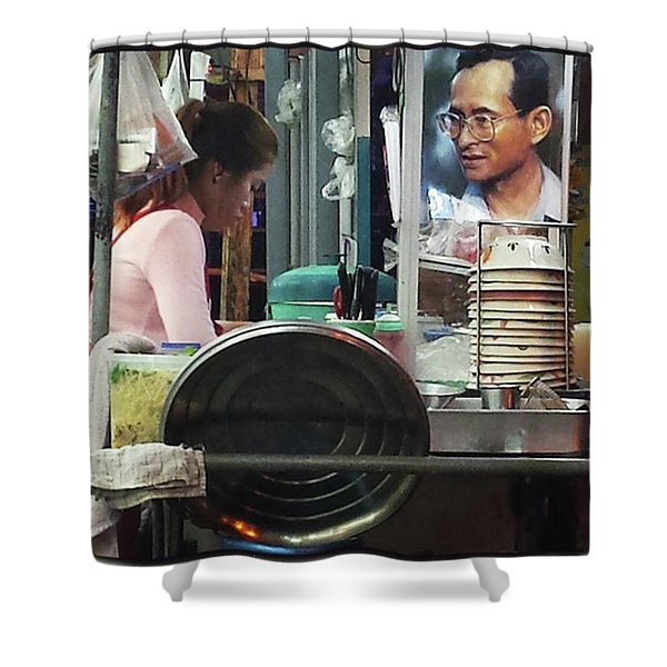 Shower Curtain featuring the photograph Long Live The King. Even After His by Mr Photojimsf