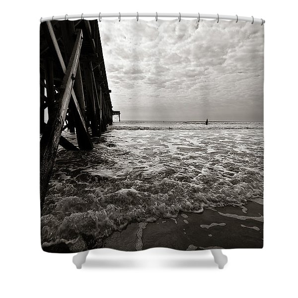 Long To Surf Shower Curtain