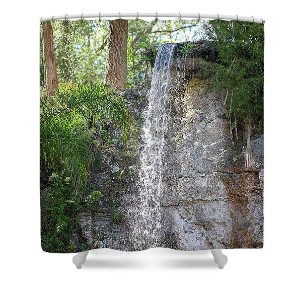 Long Waterfall Drop Shower Curtain