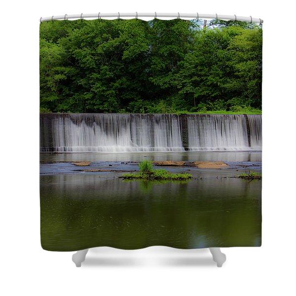 Long Waterfall Shower Curtain