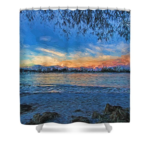 Longboat Pass 2 Shower Curtain