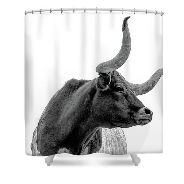 Longhorn Pride Shower Curtain