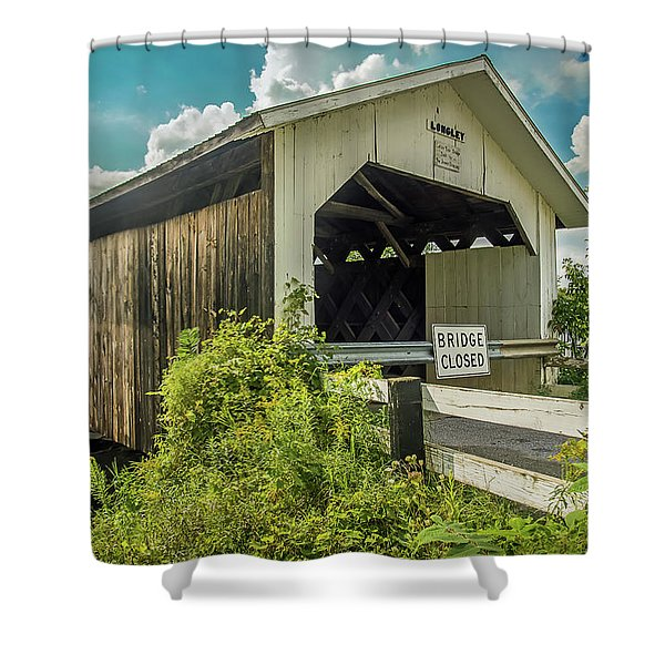 Longley Bridge Shower Curtain