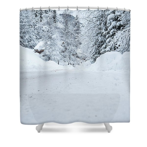Lonly Road- Shower Curtain