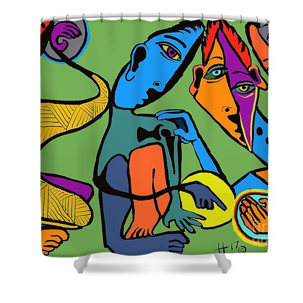 Look At This One Shower Curtain