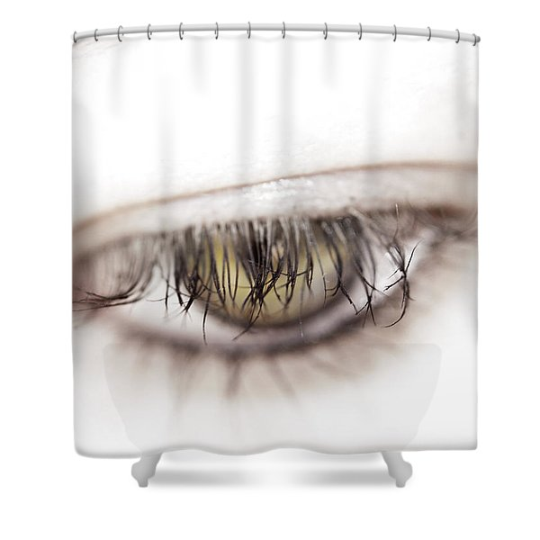 Look Away Shower Curtain