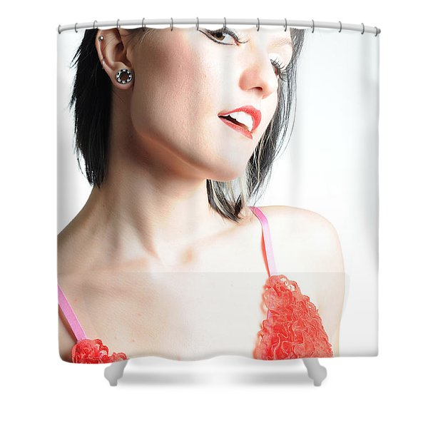 Look In To My Eyes Shower Curtain