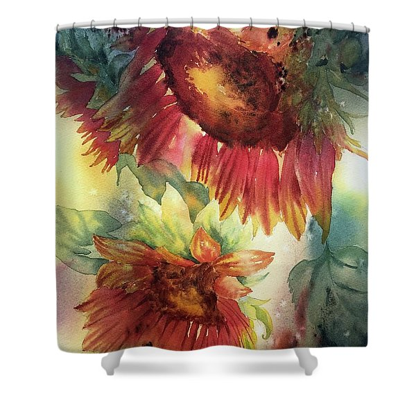 Look On The Sunny Side Shower Curtain