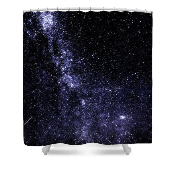 Look To The Heavens Shower Curtain