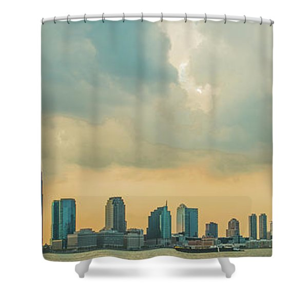 Looking At New Jersey Shower Curtain