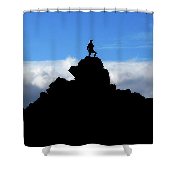 The Summit Hunter Shower Curtain