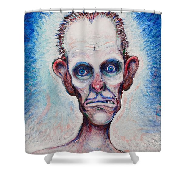 Looks A Fright Shower Curtain