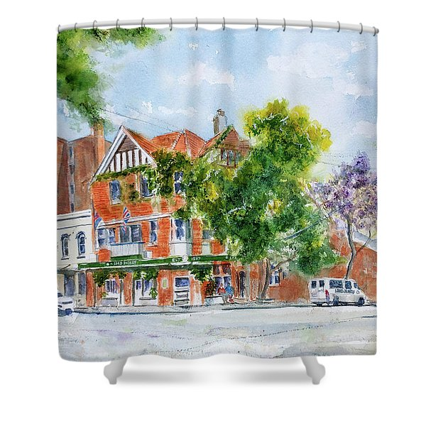 Lord Dudley Hotel Shower Curtain