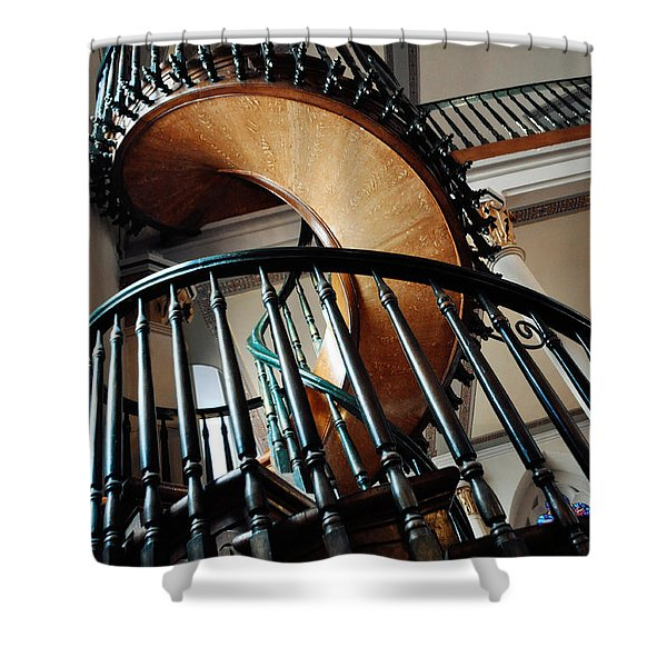 Loretto Chapel Miraculous Staircase Shower Curtain