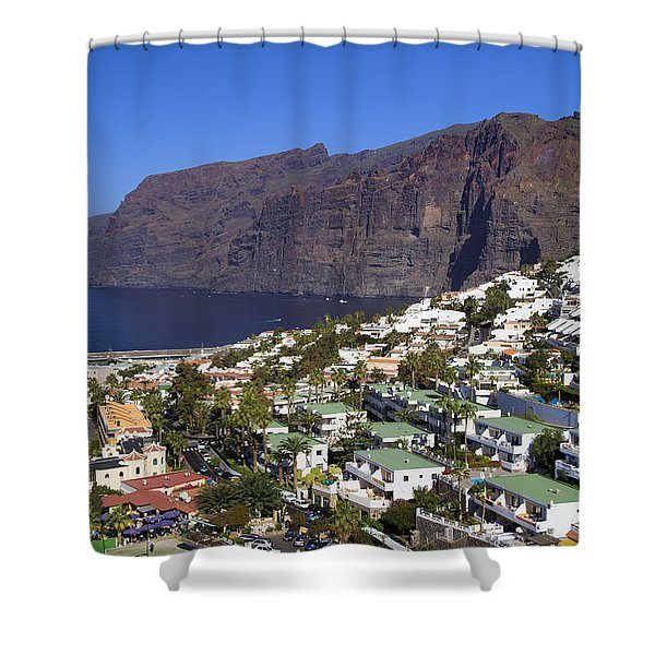Los Gigantes In Tenerife Shower Curtain