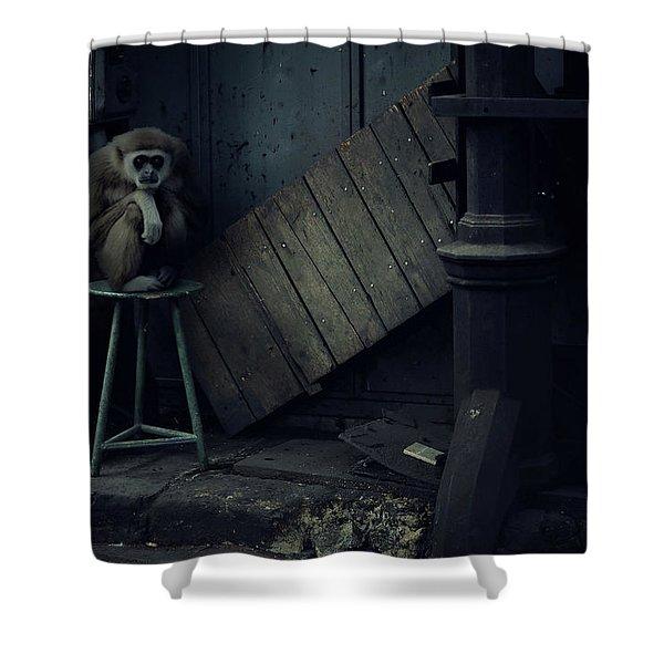 Lost Animals -  Series Nr.4 Shower Curtain