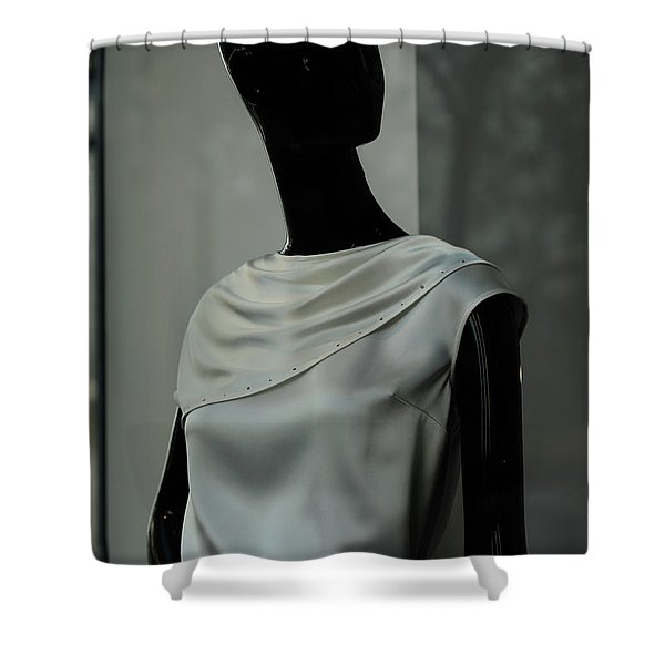 Lost Glance Shower Curtain