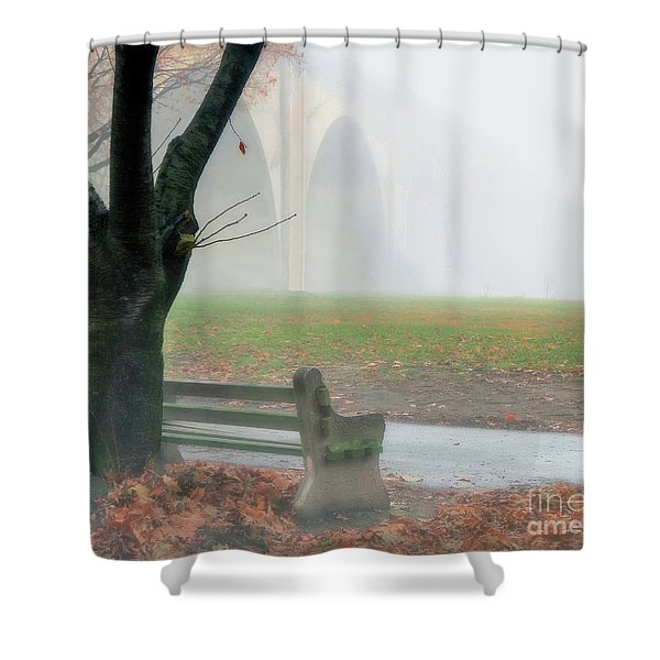 Lost In A Fog Shower Curtain
