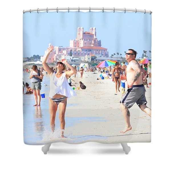 Lost In The Sun Shower Curtain