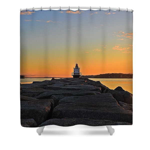 Lost In The Sunrise Shower Curtain