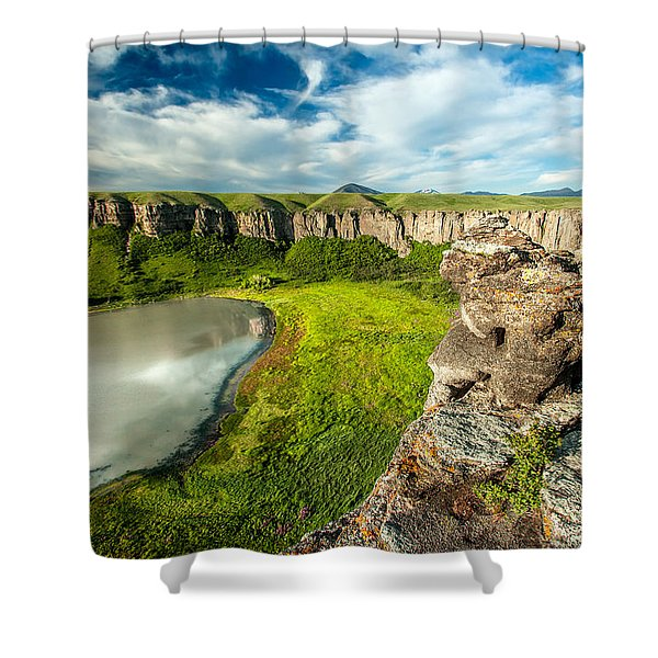 Lost Lake Shower Curtain