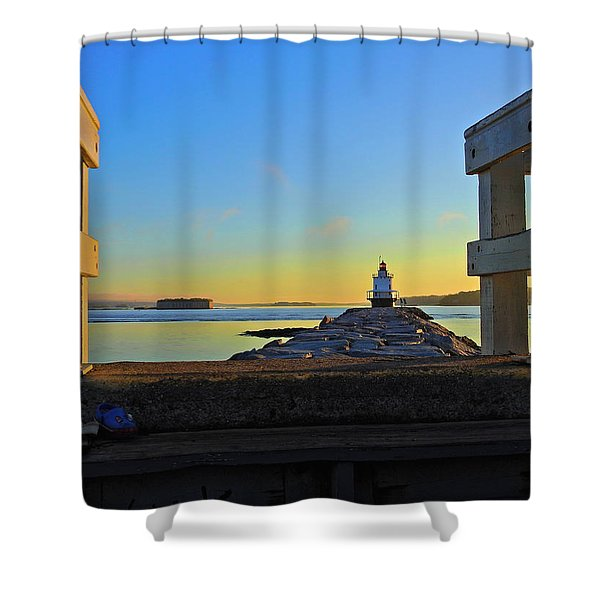 Lost Shoes Shower Curtain
