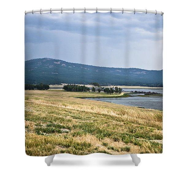 Lost Trail Wildlife Refuge 3 Shower Curtain