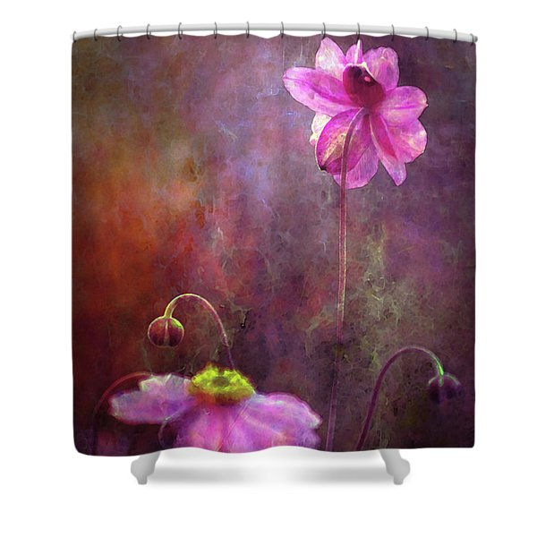 Lost Turning Away 3860 Lw_2 Shower Curtain