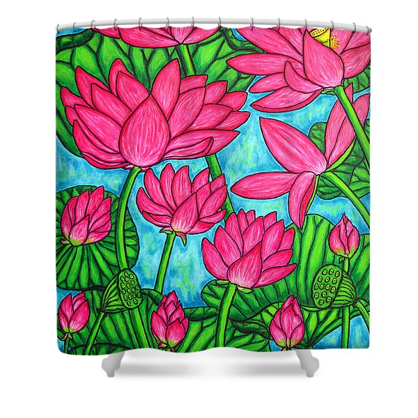 Lotus Bliss Shower Curtain