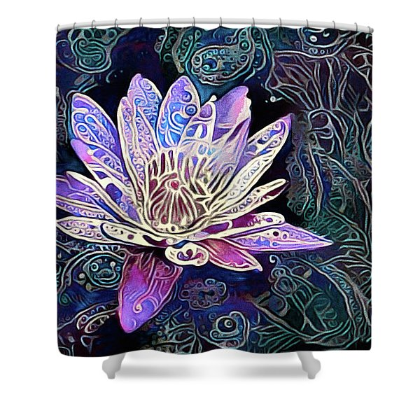 Lotus From The Mud Shower Curtain