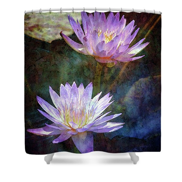 Lotus Reflections 2980 Idp_2 Shower Curtain