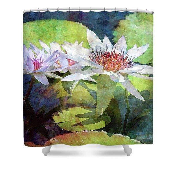 Lotus Trio 2923 Idp_2 Shower Curtain
