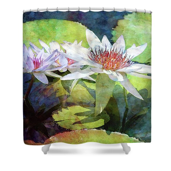 Lotus Trio 2923 Idp_2 Shower Curtain