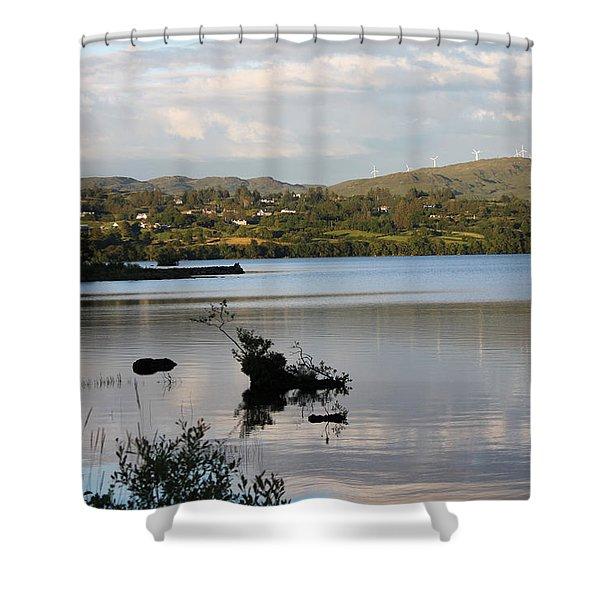 Lough Eske 4251 Shower Curtain
