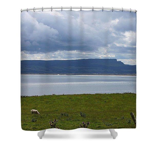 Lough Foyle 4171 Shower Curtain