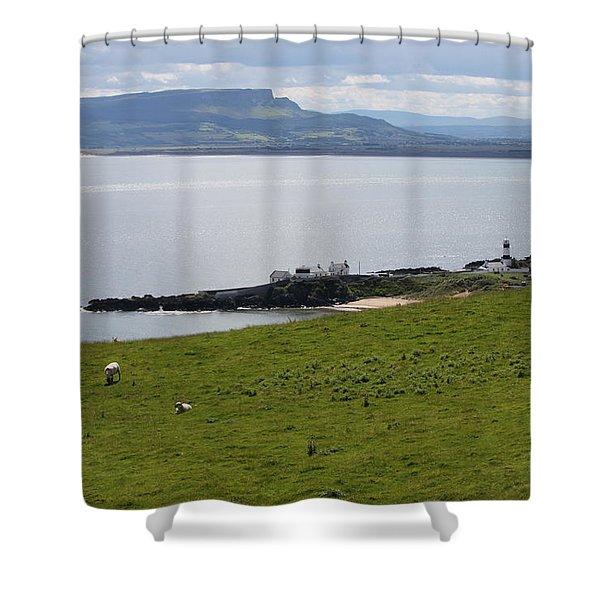 Lough Foyle 4210 Shower Curtain