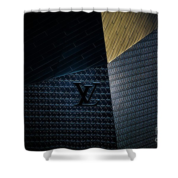Louis Vuitton At City Center Las Vegas Shower Curtain