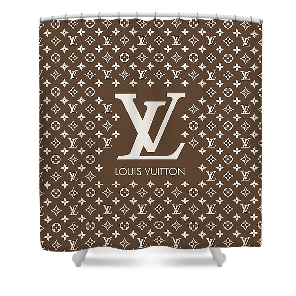 c51e62e65882 Louis Vuitton Pattern - Lv Pattern 12 - Fashion And Lifestyle Shower Curtain