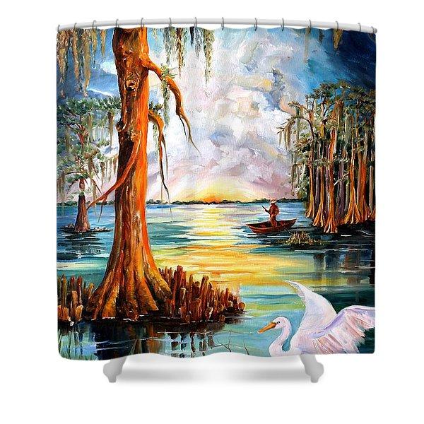 Louisiana Bayou Shower Curtain