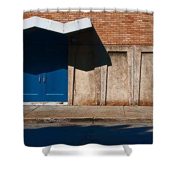 Louisville Wave Shower Curtain