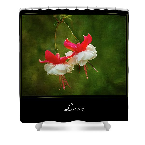 Love 1 Shower Curtain