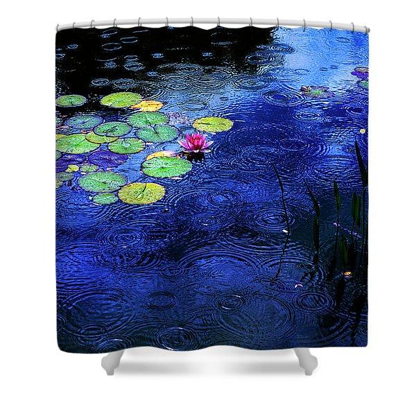 Love A Rainy Day Shower Curtain