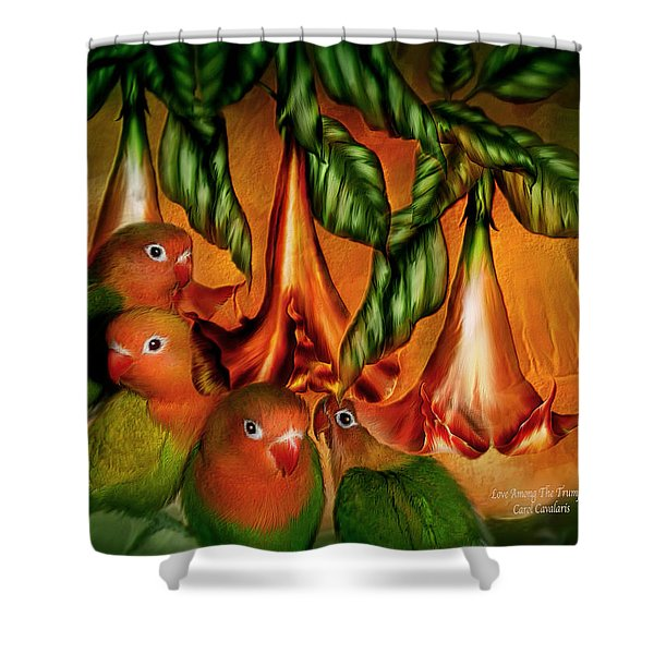 Love Among The Trumpets Shower Curtain