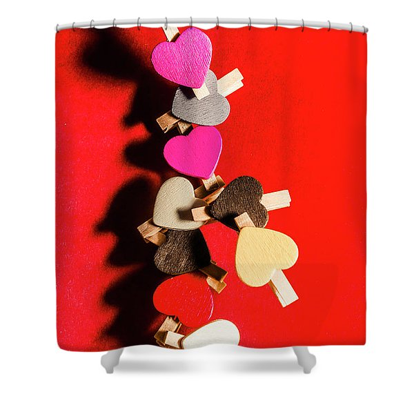 Love And Connection Shower Curtain