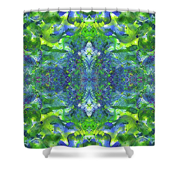 Love And Protect Our Living Gaia #1517 Shower Curtain