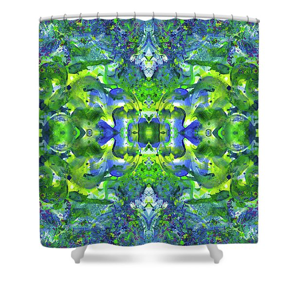 Love And Protect Our Living Gaia #1518 Shower Curtain
