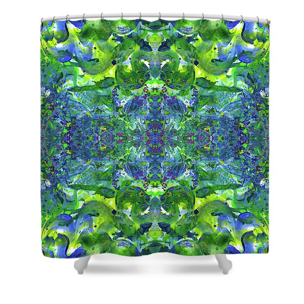 Love And Protect Our Living Gaia #1519 Shower Curtain