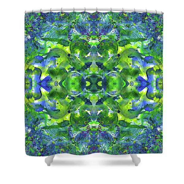 Love And Protect Our Living Gaia #1520 Shower Curtain