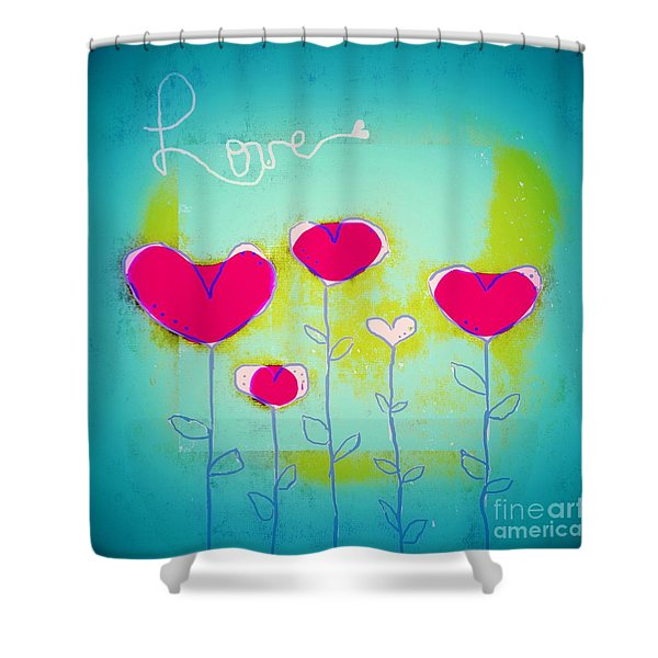 Love Art - 144a Shower Curtain