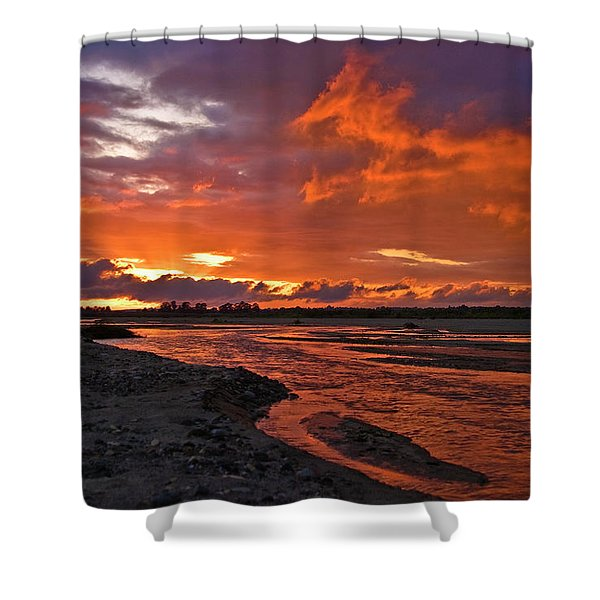 Love At First Light Shower Curtain
